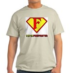 Super Firefighter Ash Grey T-Shirt