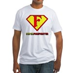 Super Firefighter Fitted T-Shirt