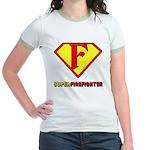 Super Firefighter Jr. Ringer T-Shirt