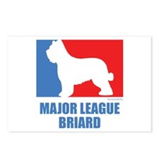 ML Briard Postcards (Package of 8)
