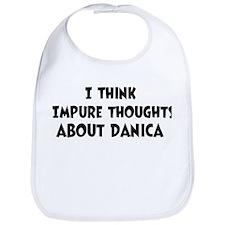Danica (ball and chain) Bib