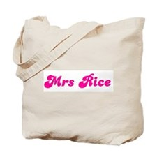 Mrs Rice Tote Bag