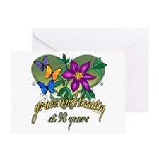 Beautiful 98th Greeting Card