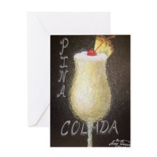 Pin Colada Greeting Card