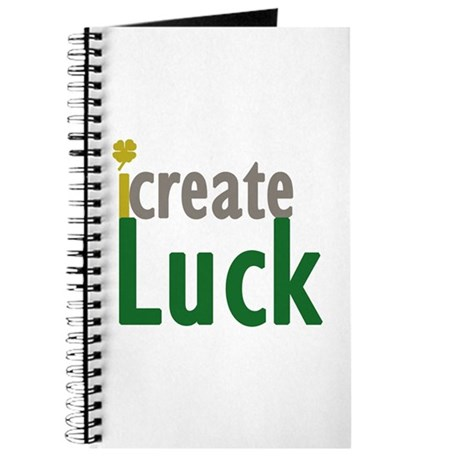 I Create Luck Journal