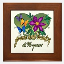 Beautiful 96th Framed Tile