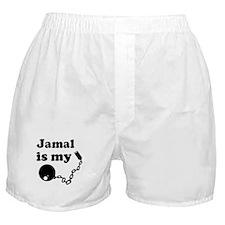 Jamal (ball and chain) Boxer Shorts