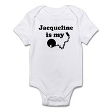 Jacqueline (ball and chain) Infant Bodysuit