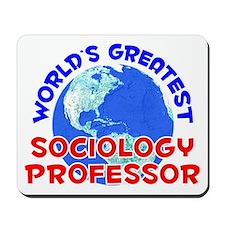 World's Greatest Socio.. (E) Mousepad