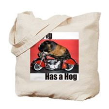 Funny Cavy Tote Bag