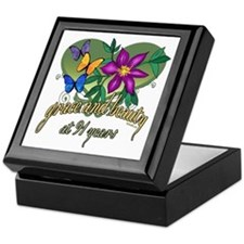 Beautiful 91st Keepsake Box