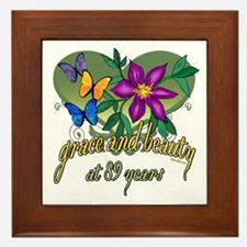 Beautiful 89th Framed Tile