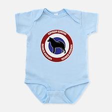 Norwegian Elkhound Bullseye Infant Bodysuit
