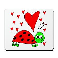 Bug In Love Mousepad