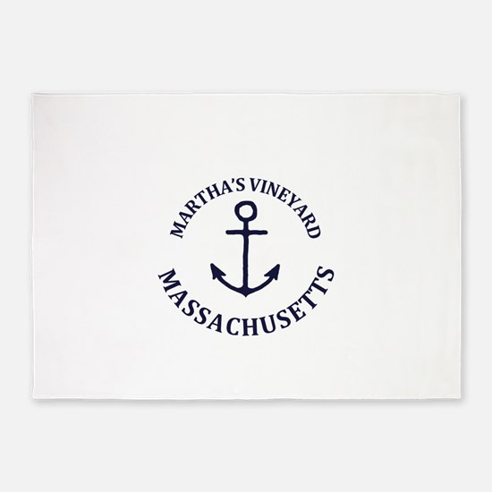Summer Martha's Vineyard- Massachus 5'x7'Area Rug
