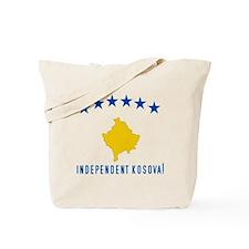 Kosova's New Flag! Tote Bag