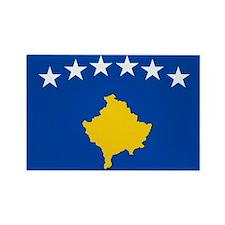 Kosova's New Flag! Rectangle Magnet