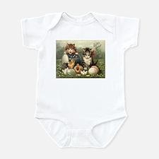 Vintage Easter Infant Bodysuit