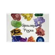 Geology Rocks 8 Rectangle Magnet (10 pack)
