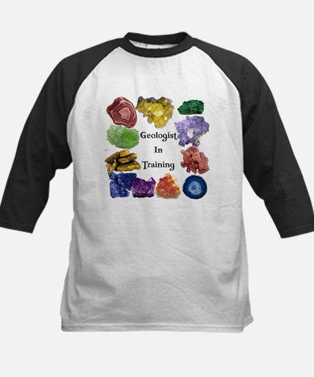 Geology Rocks 12 Kids Baseball Jersey