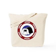 Pekingese Bullseye Tote Bag