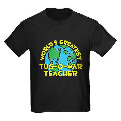 World's Greatest Tug-o.. (H) Kids Dark T-Shirt