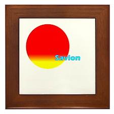 Savion Framed Tile