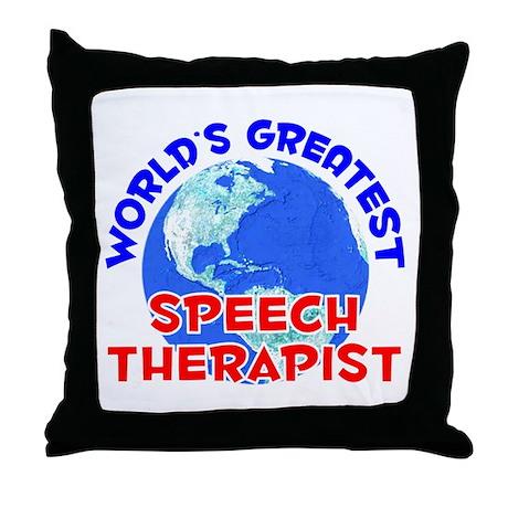 World's Greatest Speec.. (E) Throw Pillow
