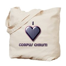 I Love Corpus Christi #5 Tote Bag