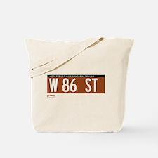 86th Street in NY Tote Bag