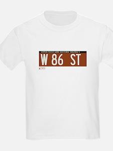 86th Street in NY T-Shirt