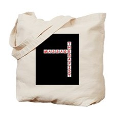 Massage Therapy Crossword Tote Bag