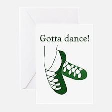 Gotta Irish Dance Greeting Cards (Pk of 10)