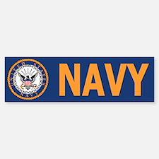 U. S. Navy <BR>Bumper Bumper Bumper Sticker