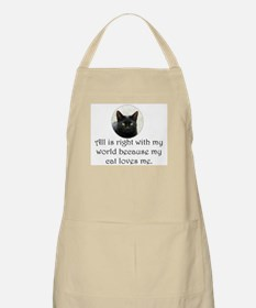 Black Cat BBQ Apron