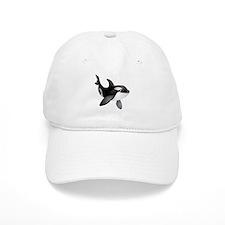 Friendly Orca Baseball Cap