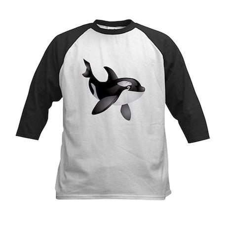 Friendly Orca Kids Baseball Jersey