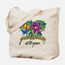 Beautiful 80th Tote Bag
