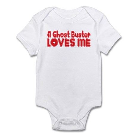 A Ghost Buster Loves Me Infant Bodysuit