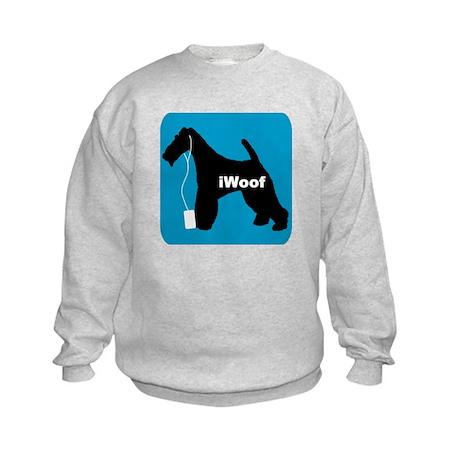 iWoof Fox Terrier Kids Sweatshirt