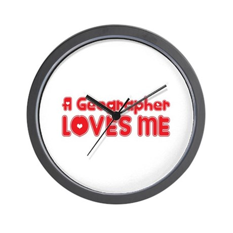 A Geographer Loves Me Wall Clock