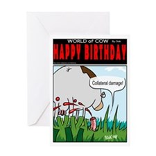 Collateral Damage! Greeting Card