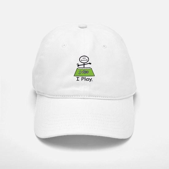 Mahjong Stick Figure Baseball Baseball Cap