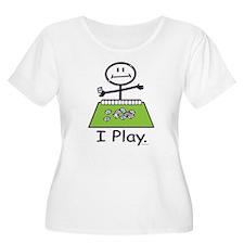 Mahjong Stick Figure T-Shirt