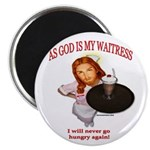 button_waitress Magnets