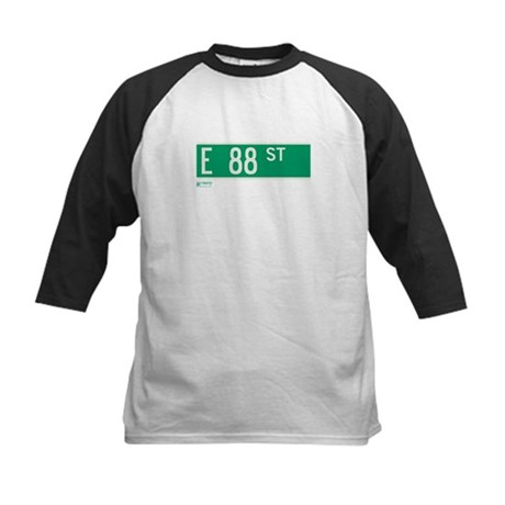 88th Street in NY Kids Baseball Jersey