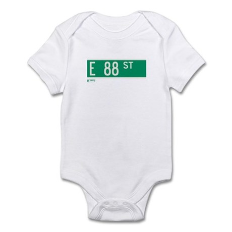 88th Street in NY Infant Bodysuit