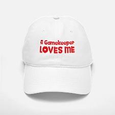 A Gamekeeper Loves Me Baseball Baseball Cap