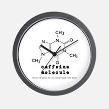 Caffeine Addicts Wall Clock