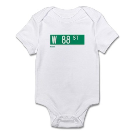 88th Street in NY Infant Bodysuit